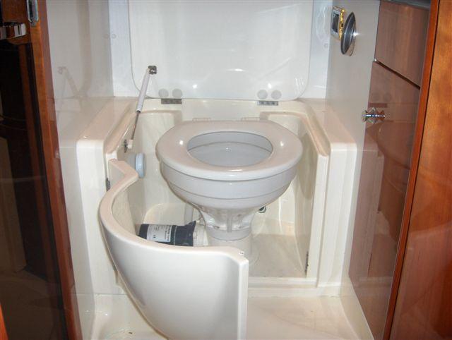 Thetford Bone Tecma Silence Plus Macerator Toilet